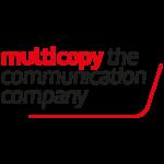 Logo : Multicopy communication company logo-vierkant